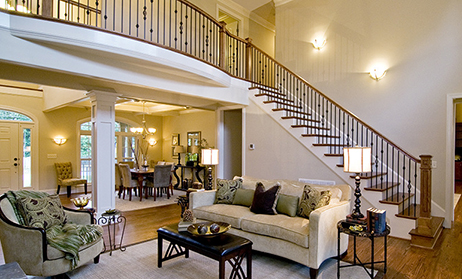 Two Story Great Room Home Plans