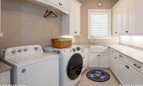 Oversized Utility Room Home Plans