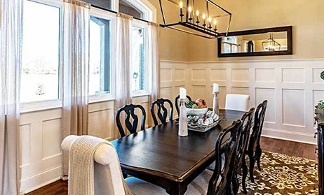 Formal Dining Home Plans